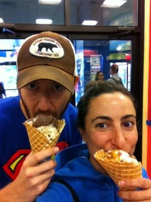 Ben & Jerry's - Joe & Hillary Eating Ice Cream
