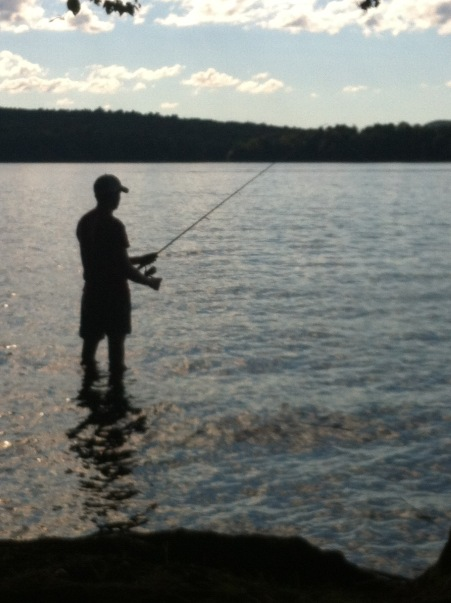 Joe Fishing in Cranberry Lake2