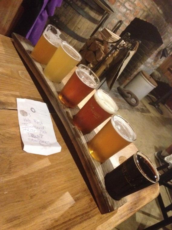Boot Bay Beer Flights